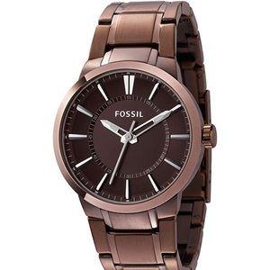 Fossil FS4472 Brown Stainless-Steel Quartz Watch